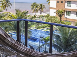 Apartamento Vista Mar - Estrutura Resort | Net Top HD, WI-FI 30MB