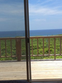 View of The Atlantic from bed!!!