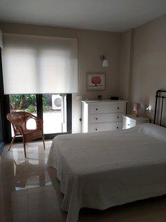 Dormitorio principal ventana