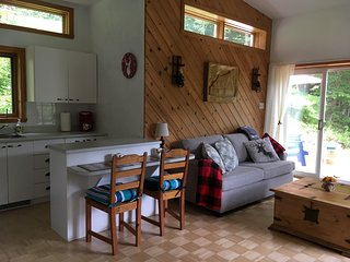 Lovely Cottage-Mountain View-20 minutes from Quebec City-Steps outdoor activitie