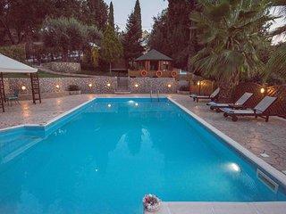 Villa Theodora on the beautiful Greek island Corfu