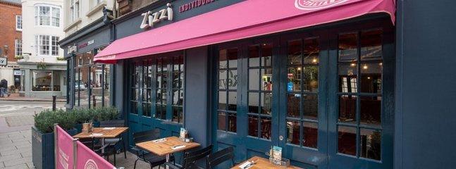 Zizzi Restaurant close to the studio