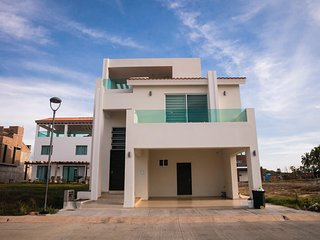 Mazatlan SIN. Casa de playa Abulon 3508  Playa Brujas Residencial and Beach Club