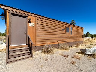 Crowley Cabin at Sierra Meadows Ranch in Mammoth Lakes sleeps up to 6