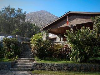 Alquiler Casa De Campo CHACLACAYO (en las partes altas), sol todo el ano
