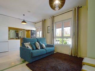 Moderno apartamento, centrico y frente al mar y la playa