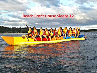 Ocean View Beach Front White Sand Warm Waters Sleeps 12 San Juan Laiya, Batangas