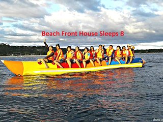 Ocean View Beach Front  White Sand Warm Waters Sleeps 8 San Juan Laiya, Batangas
