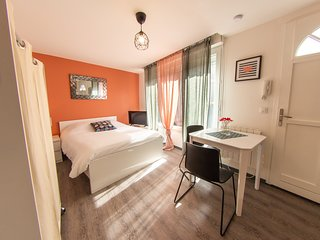 Trankil'Appart Centre, TR15, 1 lit double, 25 m2 + terrasse privative