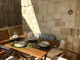 Veranda fronte mare zona pranzo