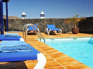 Villa Liv  with sea views and private heated pool