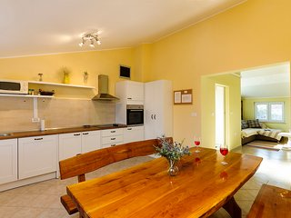 Bright and spacious apartment on the edge of the village Muntić, near Pula, CRO