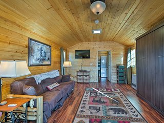 NEW-Livingston Studio on 10 Acres Near Yellowstone