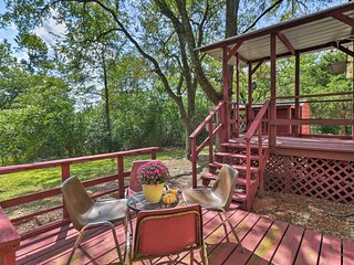 NEW! Secluded 'Ridgemont Cottage' in Hot Springs!