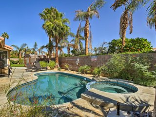 NEW La Quinta Home w/Private Pool, Spa&Golf Course
