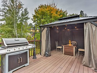 NEW! Chic Spokane Home w/ Deck, Fire Pit & Gazebo!