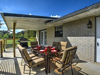 NEW! Kirby Home w/Patio Just North of Lake Greeson