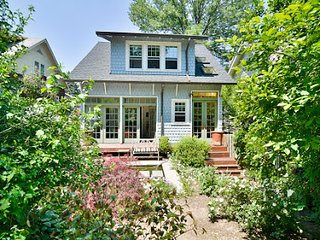 An Oasis in the City:  Historic Cleveland Park 1 Bk from Metro 3 Bd Home
