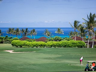 BREATH TAKING VIEWS - Hualalai Fairway Villa 120A, 3/3.5