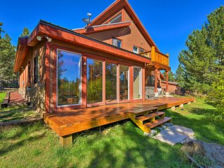 NEW! 5-Acre Angel Fire Mtn Home w/ Hot Tub & Sauna