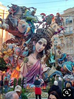 Monumento fiestas de Fallas