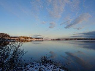 Boende på Konstnärsresidens i södra Lappland