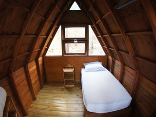 Cabin 3 (Single), Pachamama Forest Retreat.