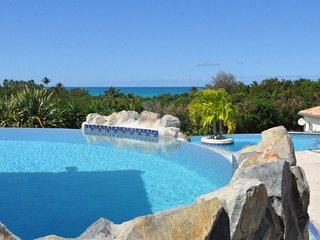 Villa Cascades  ^ Ocean View ^ Located in  Stunning Terres Basses with Private P