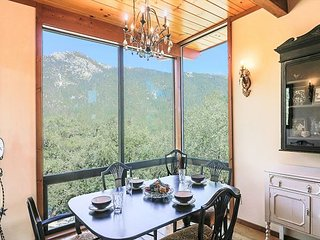 Enjoy Idyllwild's natural elements from 'Falling Leaf View' Mountain Home