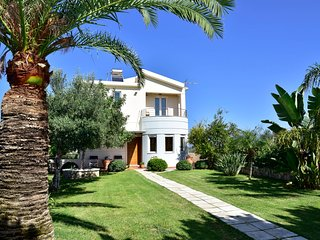 ELIA Seaside Villa, An Amazing Two-Story Pool House in Drapanias, Kissamos