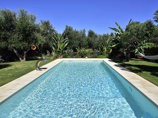 ELIA Seaside Villa, An Amazing Two-Story Pool House in Drapanias, Kissamos