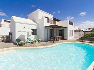 4 bedroom Villa in Playa Honda, Canary Islands, Spain : ref 5675865