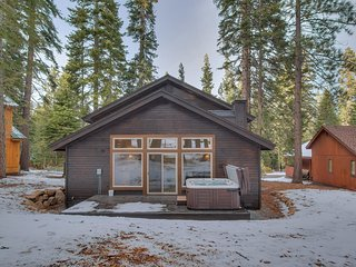 Contemporary Retreat at Tahoe Donner