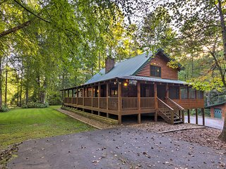 NEW! Lower Lodge on 80 Acres 45 Min. to Asheville!