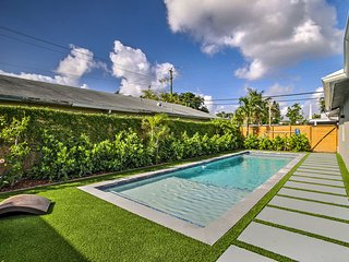 NEW-Remodeled Fort Lauderdale Home w/Semi-Pvt Pool