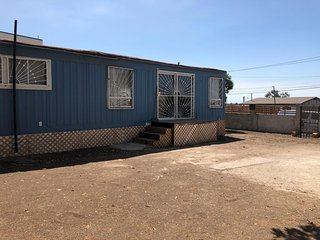 Blue house Mobile home
