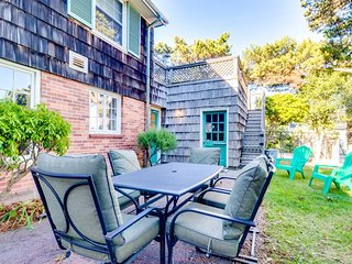 Beach home two blocks from shore & two minutes from town!