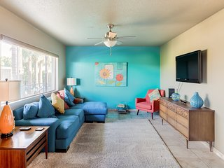 Stay in a Mid-Century Condo Full of Color