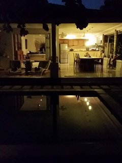 Night time reflections ..soo very soothing..