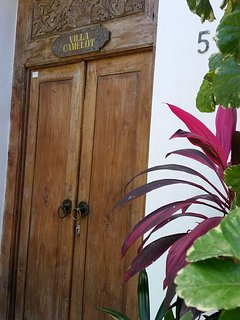 Entrance to paradise. .Villa Camelot..