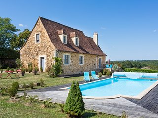 2 bedroom Villa in Saint-Marcel-du-Périgord, Nouvelle-Aquitaine, France : ref 56