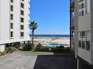 Southern Sands 102 ~ Renovated, Private Balcony w Beach View, on the beach ~ Wal