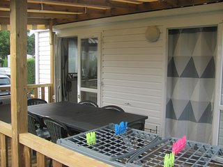 Mobil home 4/6 personnes avec terrasse couverte