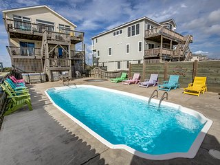 Keg's | Oceanfront | Private Pool, Hot Tub