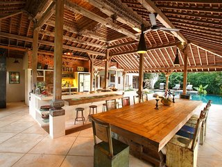Eco-luxury, family-friendly villa with private swimming pool in Bali