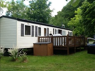Luxury Willerby cottage gold mobile home