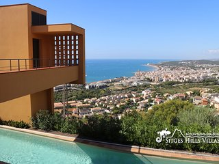 Stunning Villa Dumas with heated pool, amazing views