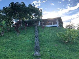 Paradise Found! Casa Piedra-200 acre rainforest on Dolphin Bay