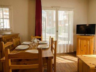 Joli Appartement avec Balcon/Cuisine Privee, au pied de la telecabine