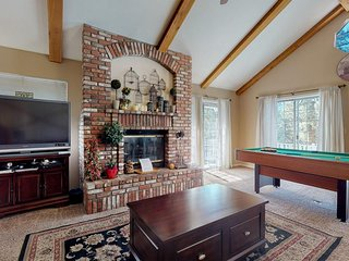 Incredible four-level home close to lake and skiing - great for families!